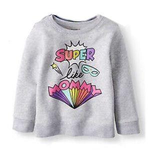 Garanimals • Super Like Mommy Sweatshirt 3T